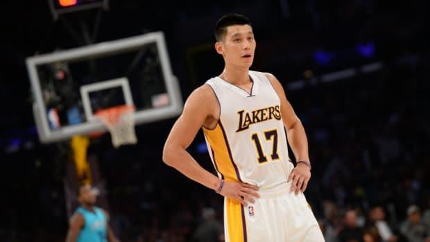 Lakers Jeremy lin is speechless