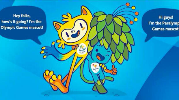 Mascots unveiled for 2016 Olympics in Brazil