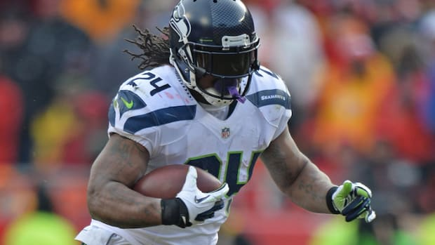 Seattle Seahawks Marshawn Lynch fined 2014