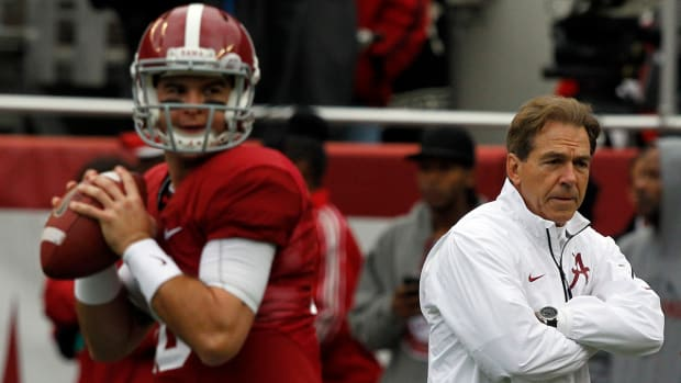 Nick Saban responds to A.J. McCarron's criticism of Alabama