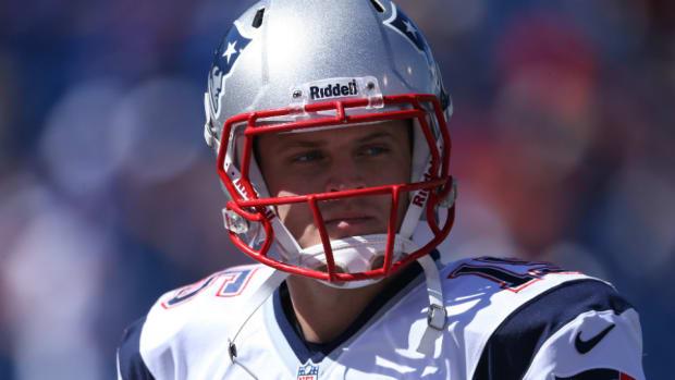 Patriots quarterback Ryan Mallett