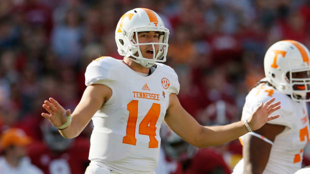 Tennessee quarterback Justin Worley