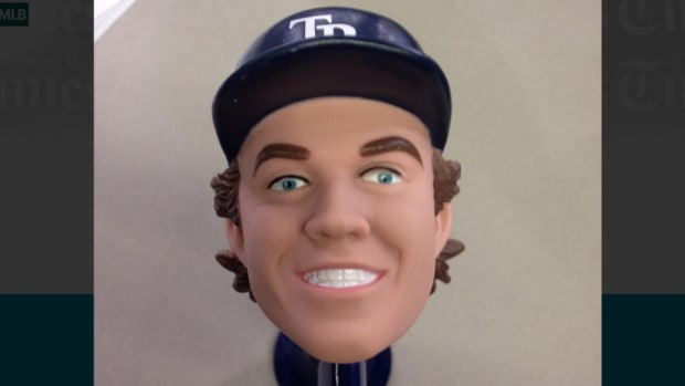 Tampa Bay Rays Wil Myers giveaway bike horn