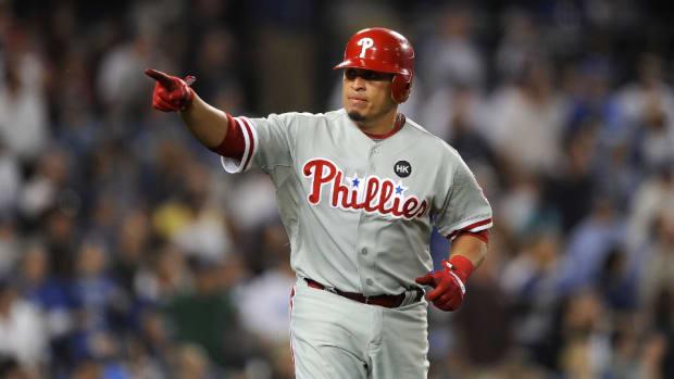 Philadelphia Phillies' Carlos Ruiz
