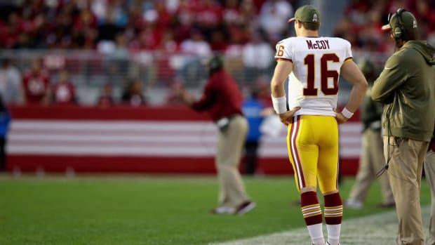Redskins place Colt McCoy on season-ending IR IMAGE