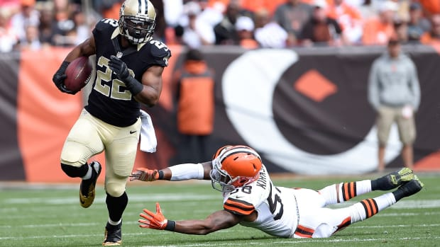 Mark Ingram New Orleans Saints hand injury