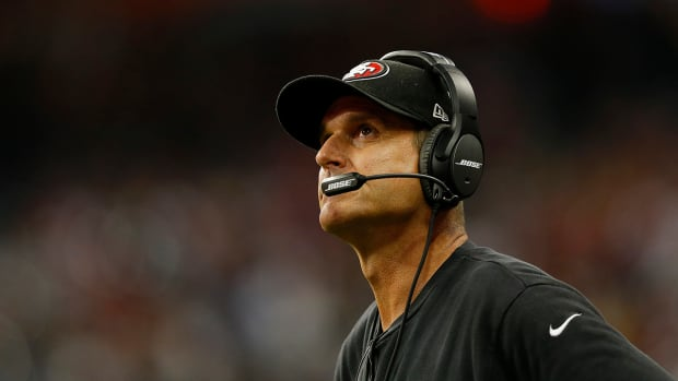 Report: Raiders, Jets eyeing Jim Harbaugh as head coach