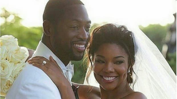 Dwyane Wade and Gabrielle Union got married, and they looked great
