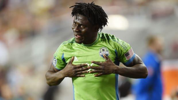 Sounders F Obafemi Martins