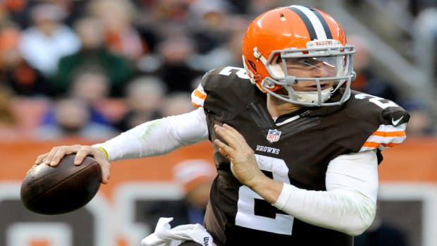 johnny manziel starting cleveland browns mike pettine
