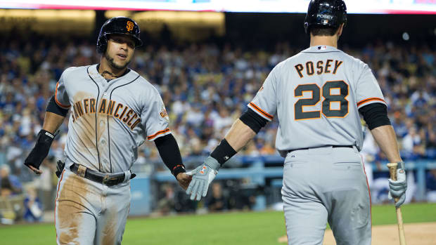 San Francisco Giants clinch playoffs