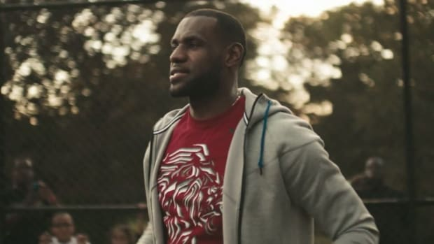 LeBron James first home game sprite commercial