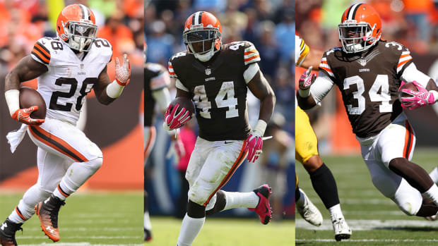 Fantasy: Deciphering the backfields in Denver and Cleveland IMG