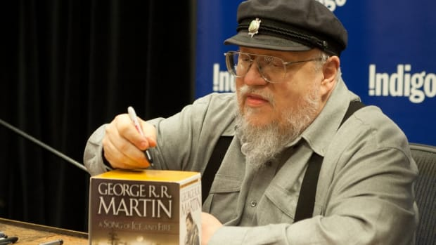 Game Of Thrones author George R.R. Martin is not a Geno Smith fan