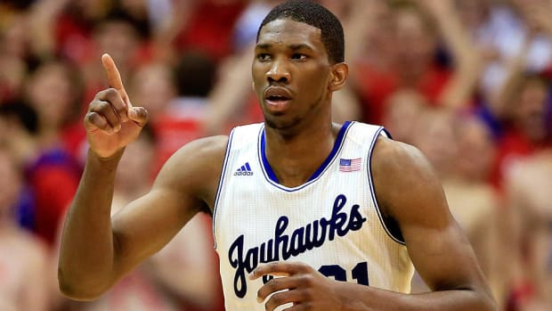 Joel Embiid NBA Draft 2014