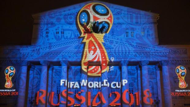 Russia annexed Crimea in a World Cup map