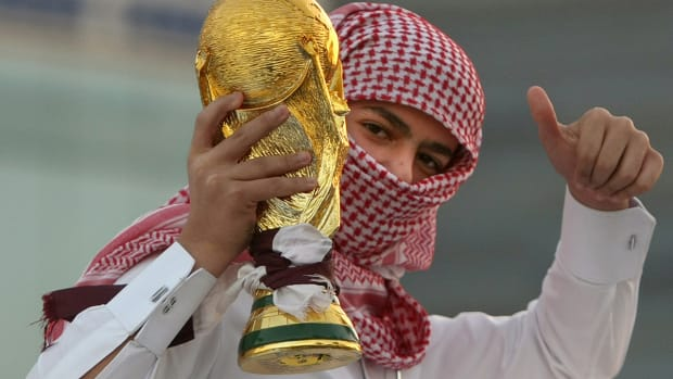 Sepp Blatter: FIFA not responsible for welfare of Qatar World Cup workers IMAGE