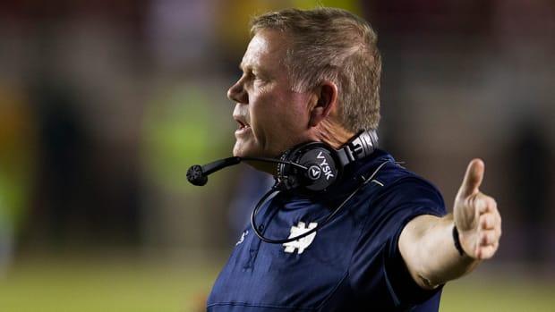 Brian Kelly Notre Dame coach