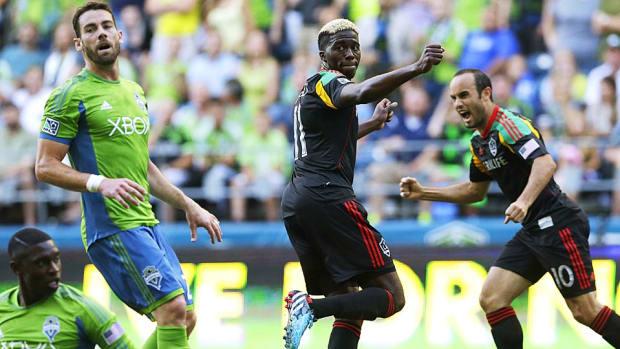 Landon Donovan Los Angeles Galaxy vs. Seattle Sounders