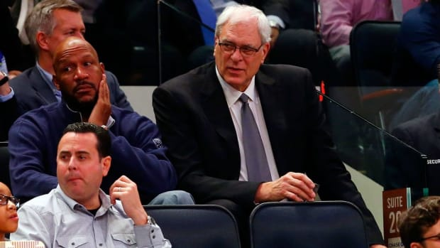 Phil Jackson is looking for help for Knicks wherever he can