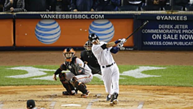 Derek Jeter RBI double tout image