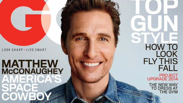 Matthew McConaughey talks Redskins, Lance Armstrong in this month's GQ