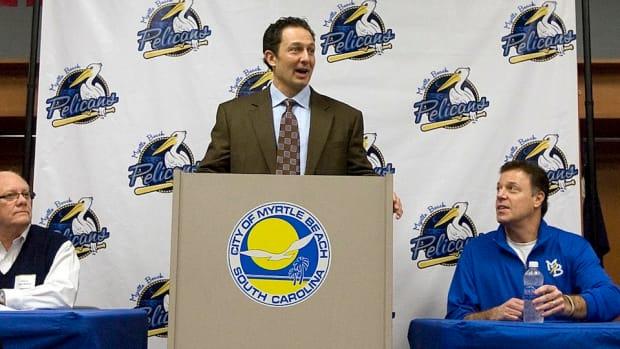 Milovich addresses press conference