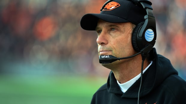 Mike Riley Nebraska head coach football Oregon State