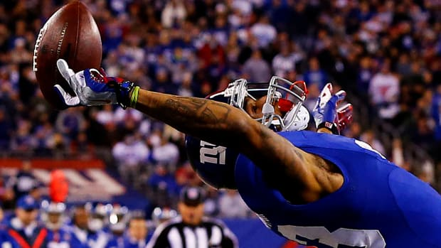 Odell Beckham Jr. makes incredible catch, athletes react on Twitter IMAGE