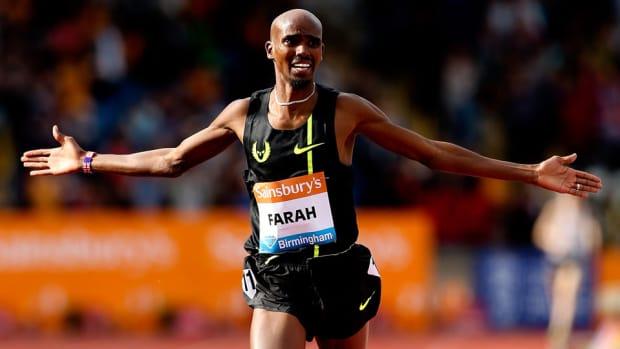 mo farah british two mile record