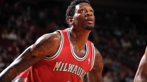 Larry Sanders Milwaukee Bucks play