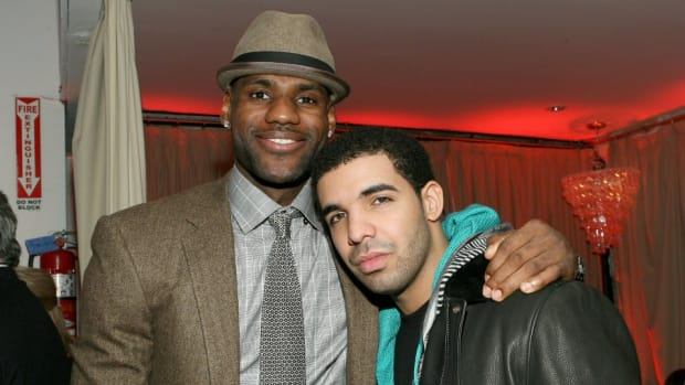 Drake says he would collaborate with LeBron James on a rap project