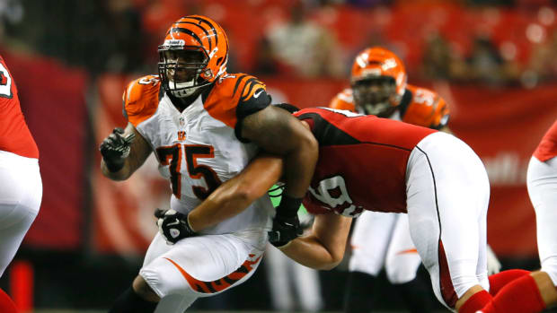 Bengals defensive tackle Devon Still
