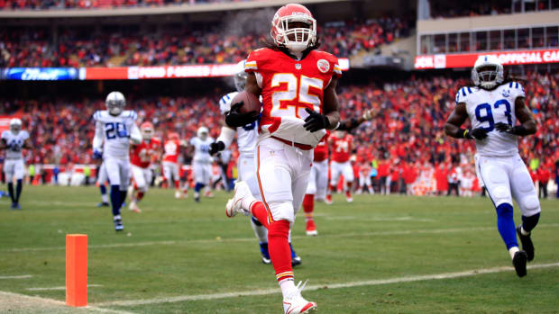 Jamaal Charles Chiefs contract