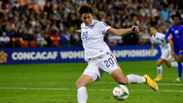 USA forward Abby Wambach