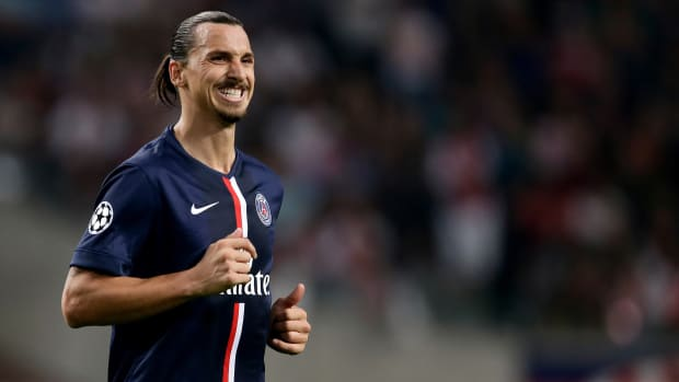 Zlatan Ibrahimovic heel return