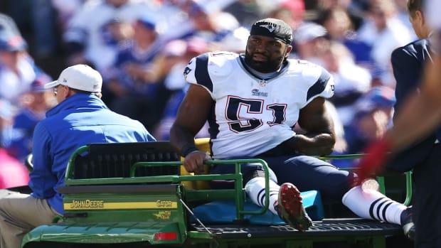 Patriots lose linebacker Jerod Mayo for season