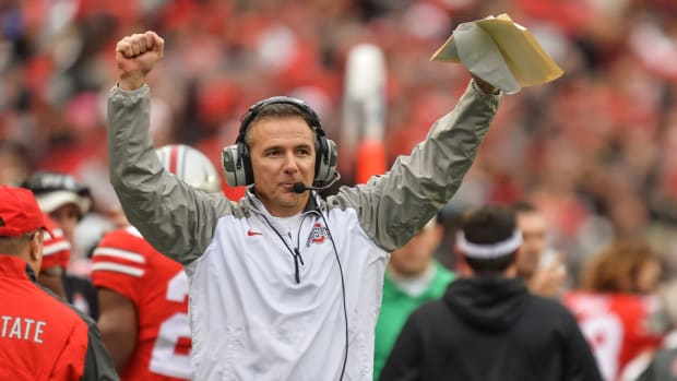 ohio state urban meyer recruiting mike weber commit