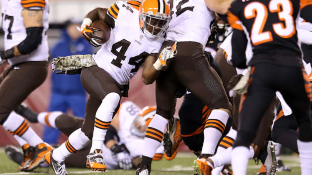 Minnesota Vikings claim Ben Tate waivers Cleveland Browns