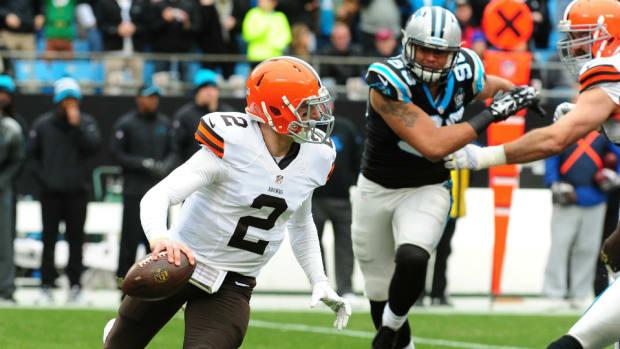 Browns QB Johnny Manziel