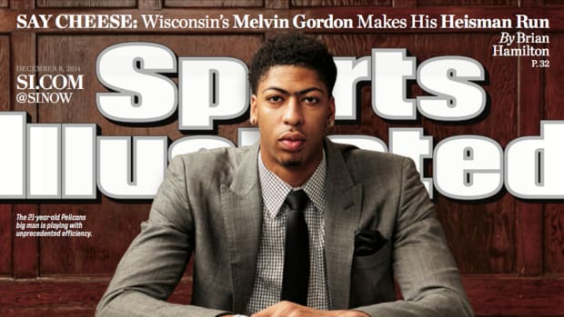 Anthony Davis featured on this week's Sports Illustrated cover