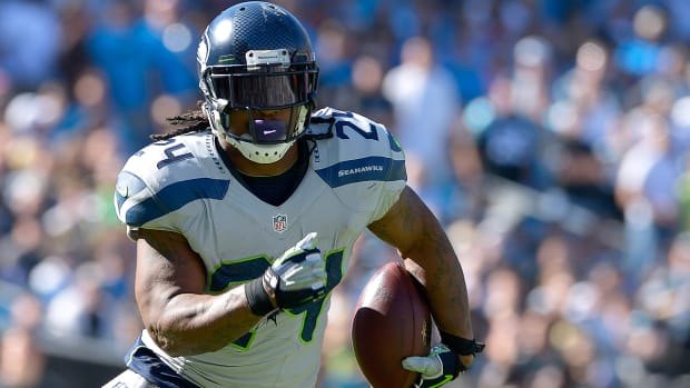 Is Marshawn Lynch on the trading block in Seattle?