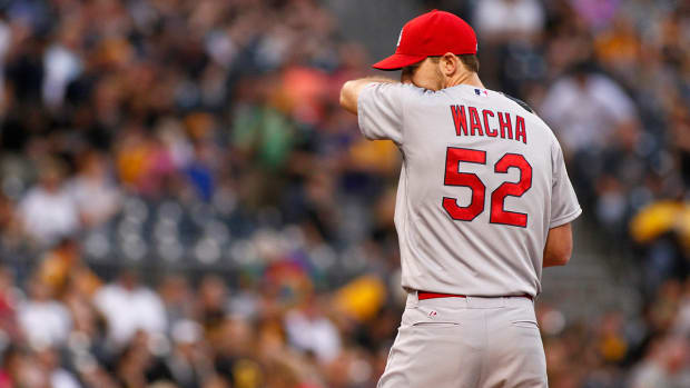 Michael Wacha left out of Cardinals' rotation for NLDS