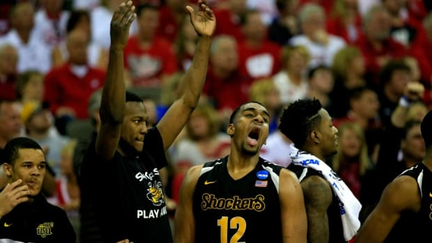 Wichita St. celebrates Kansas upset with 'State-ment' T-shirts