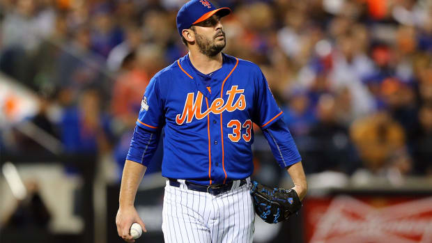 New York Mets P Matt Harvey not guaranteed to make two NLCS starts - IMAGE