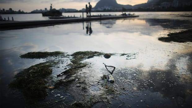 Tests find Rio 2016 competition waters filled with sewage--IMAGE