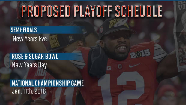 College Football Playoff schedule questioned