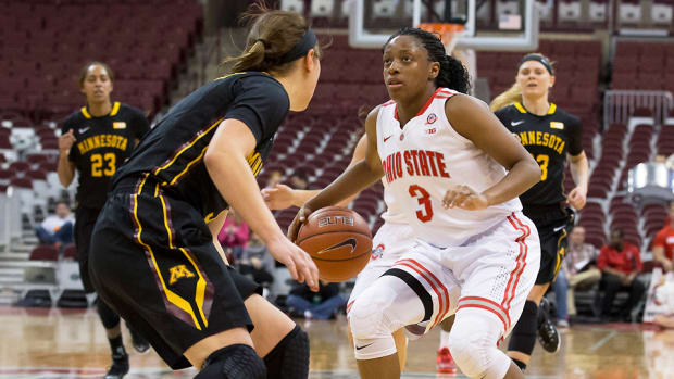Kelsey Mitchell Ohio State story top