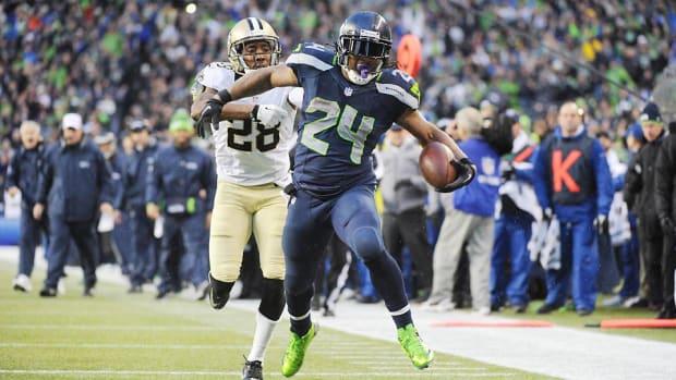 Marshawn Lynch Seahawks Super Bowl 6