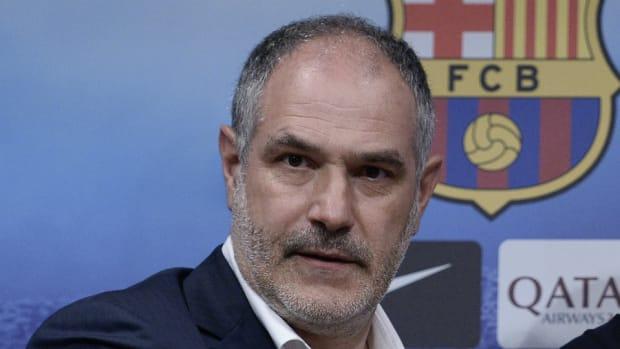 Former Barcelona director Andoni Zubizarreta
